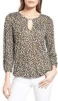 MICHAEL Michael Kors Women's Peasant Top