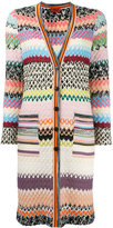 Missoni long knitted cardigan - women - Viscose/Wool - 42