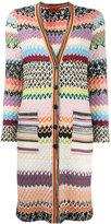 Missoni long knitted cardigan - women - Viscose/Wool - 46