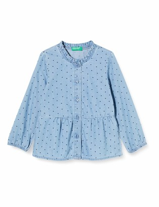 Benetton Girl's Camicia Blouse