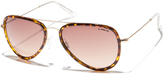 Liive Vision Ali Womens Sunglasses Gold