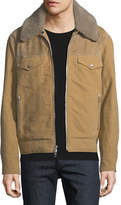 Rag & Bone Matthew Jacket with Removable Shearling Trim