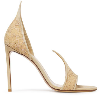Francesco Russo Lace Pumps