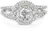 Forzieri 0,58 ctw Diamond 18K White Gold Ring