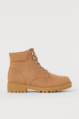 H&M Warm-lined Boots - Beige