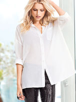 Victoria's Secret Cotton & Silk Shirt