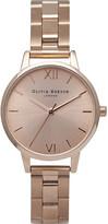 Olivia Burton OB13BL05B rose gold-plated midi dial bracelet watch