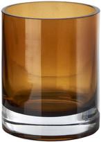 Pols Potten Light Glass Tealight Holder - Amber