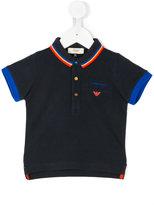 Armani Junior short sleeve polo shirt