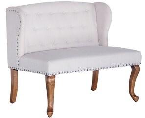 Charlton Homeâ® Alresford Chesterfield Loveseat Charlton HomeA Upholstery Color: Beige/Tan