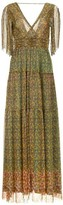 BA&SH Perla Maxi Dress In Green Pastel - 0 - UK8 / Green Pastel