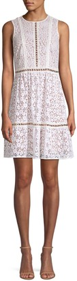 Michael Kors Mod Floral Lace Dress