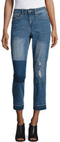 Highline Collective Patched Ex-Boyfriend Jeans