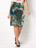 New York & Co. Eva Mendes Collection - Joula Sequin Skirt - Plus