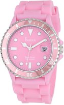 Freelook Women's HA1433-5 Sea Diver Jelly Silicone Band with Dial Watch