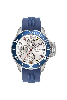 Nautica Unisex Adult Quartz Watch with Silicone Strap NAPBSP901
