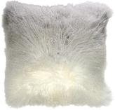 Ombre Mongolian Fur Accent Pillow