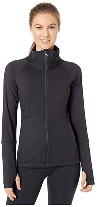 Manduka Sequence Jacket (Black) Women's Clothing