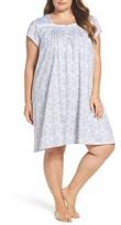 Eileen West Plus Size Women's Short Nightgown