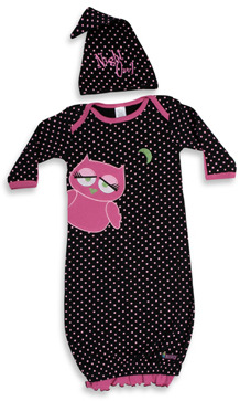 Sozo Night Owl Gown and Cap Set