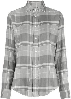 Polo Ralph Lauren Plaid-Print Embroidered-Logo Shirt