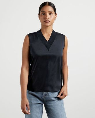 Ted Baker V Neck Sleeveless Jumper