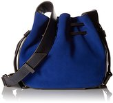 Halston Bianca Medium Drawstring Handbag