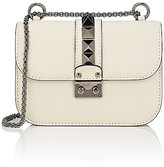 Valentino Women's Lock Small Shoulder Bag-IVORY