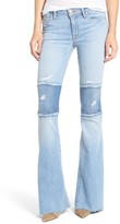Hudson Women's Mia Patchwork Flare Jeans