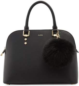 Aldo Galilini Faux Fur-Trim Crossbody Bag
