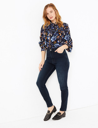 Marks and Spencer PETITE High Waisted Super Skinny Jeans