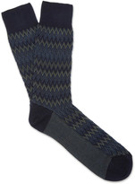 Missoni - Crochet-knit Cotton-blend Socks