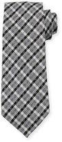 Tom Ford Plaid Wool/Silk Tie