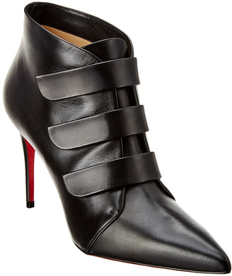 Christian Louboutin Triniboot 85 Leather Bootie