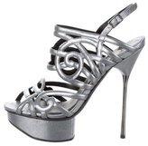 Kurt Geiger Leather Platform Sandals