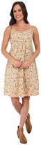 Roper 9756 Coral Ditsy Floral Printed Sun Dress