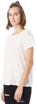 Alternative Rocker Garment Dyed Distressed T-Shirt