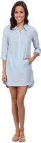 Nic+Zoe Blue Dawn Tunic Dress