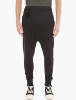 Thom Krom Charcoal Asymmetric Sweatpants