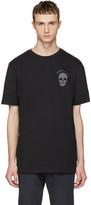 Markus Lupfer Black Logo and Skull T-shirt