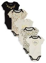 Juicy Couture Baby's 5-Pack Assorted Bodysuits