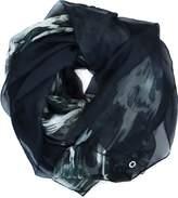 Calvin Klein Ikat Oversized Sheer Wrap Scarf 70 X 53