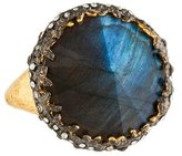 Alexis Bittar Labradorite & Crystal Cocktail Ring