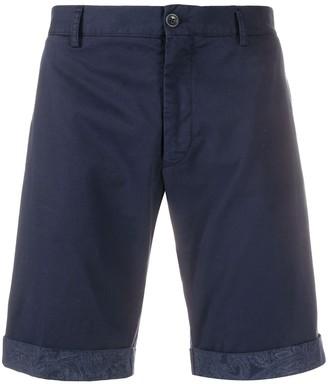 Etro Paisley Print Hem Deck Shorts