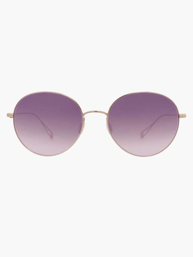 Garrett Leight Valencia 54 - Rose Gold
