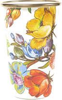 Mackenzie Childs Flower Market Enamel Tumbler