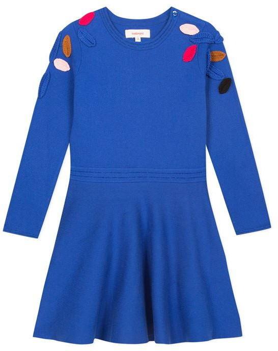 Catimini Colourful Crochet Knit Dress