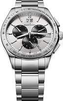 """Maurice Lacroix Men's MI1028-SS002-130 """"Miros"""" Stainless Steel Watch"""