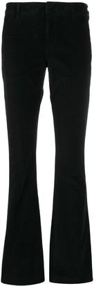 Dondup Velvet Kick Flared Trousers