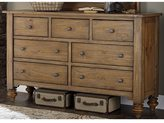 Liberty Southern Pine II Vintage Light Pine 7-Drawer Dresser